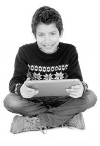 Boy 02 Tablet - High Resolution