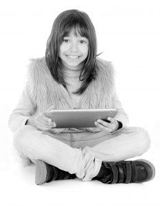 Girl 01 Tablet - High Resolution