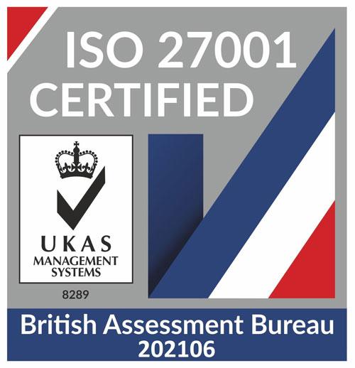 UKAS-ISO-27001 logo
